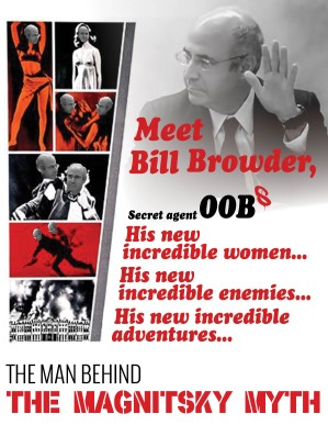 Bill Browder Secret Agent 00BS - 300 x 387px