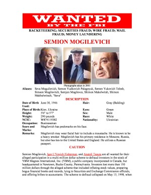 Semion Mogilevich - FBI Most Wanted - YBM Magnex International Inc. 300x388