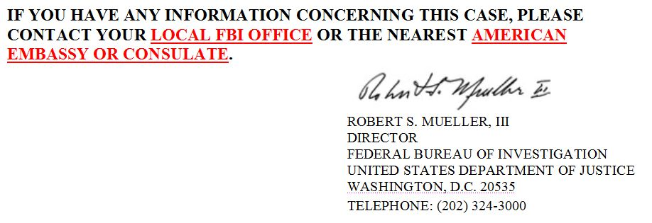 Semion Mogilevich YBM Magned FBI Most Wanted Robert Mueller